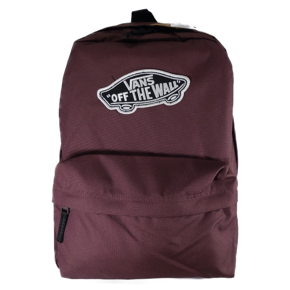 VANS Off The Wall Backpack (Maroon / Black) Boutique